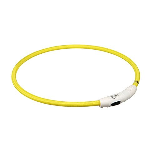 aro luminoso flash usb grande amarillo