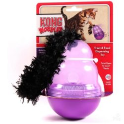kong wobbler dispensador gatos