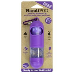 dispensador handipod bolsas heces violeta